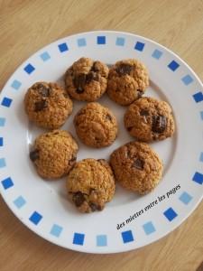 cookies dans une assiette